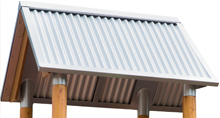Corrugated Roofs Activity Panel Frame