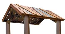 PlayWood™ Peak Roof