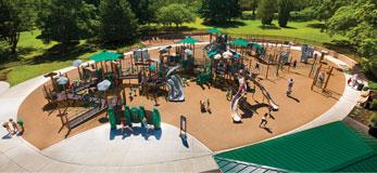 Rose Haggar Park Playground