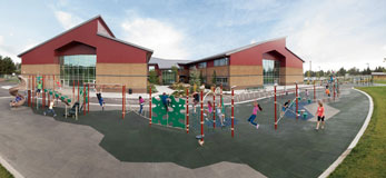 Soda Creek Elementary School Playground